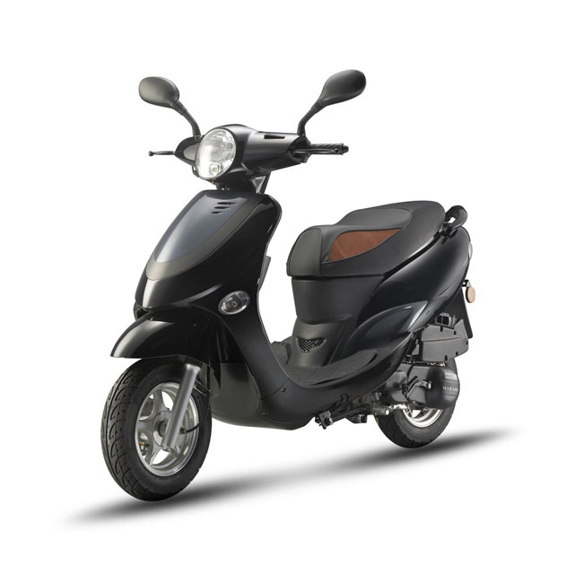 Ariic gas 50cc scooter moped eec model JET