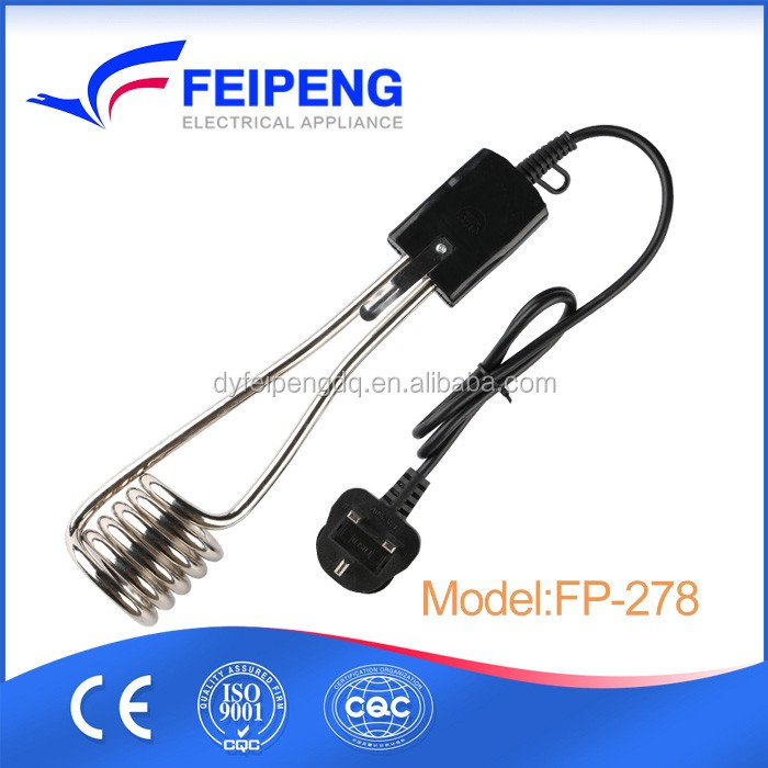 FP-278 Hot sale top quality iron 110V homemade electric water heater