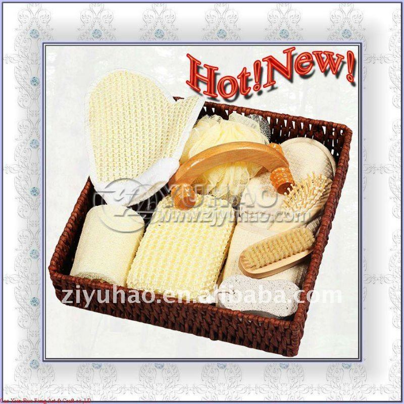 Body Lotion Bamboo Basket Body Shop Gift Set (WlC-571)