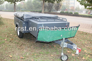 Powder coated heavy duty camper trailer RC-CPT-08XP