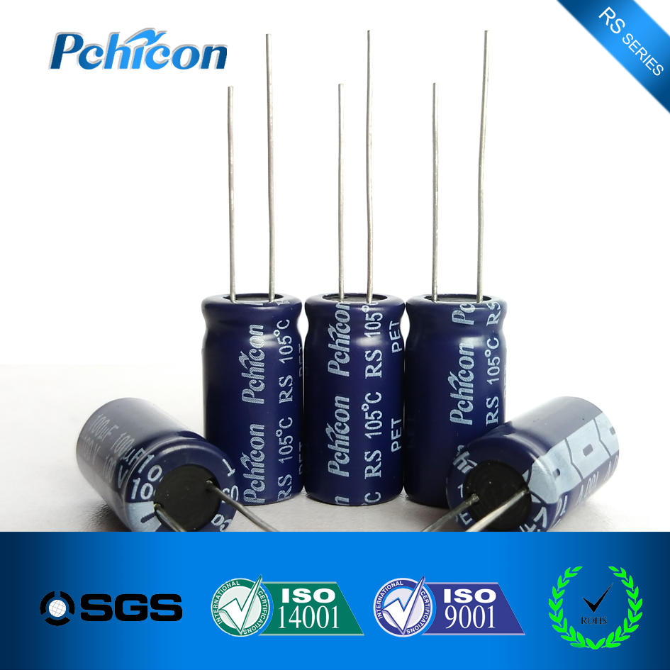 Aluminum electrolytic capacitor from 20 years capacitor factory