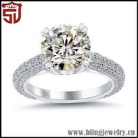 Best Quality Grace Bohemian Silver Engagement Ring
