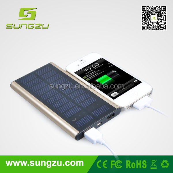Portable new 8000mah solar charger continue important conversations without interruption if your batteries are weak or depleted