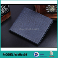 Executive rfid blocking bifold slim leather wallet purse male,men's wallet