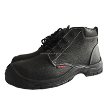 good prices CE S3 EN345 standard Genuine leather steel toe inserts mining safety shoes for construction workers RH-105