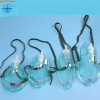 High quality PVC transparent types of oxygen masks for Adult/Child