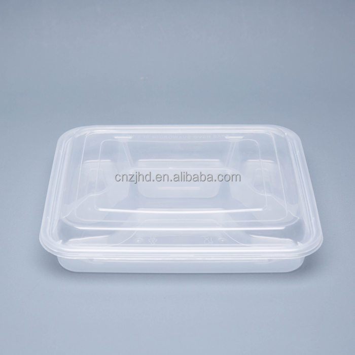 New model Disposable 4-Compartment food container