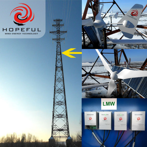 HOPEFULENERGY Airforce 1.5L 600 Watt Horizontal axis wind turbine