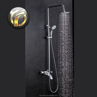 Luxury Brass Bath & Shower Mixer with single handle
