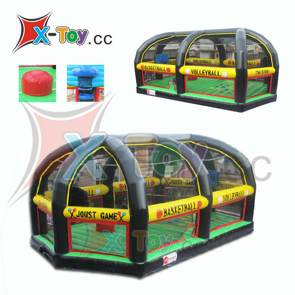 New Giant Inflatable Sports Arena 4 Games in 1(CH-ISG2012)