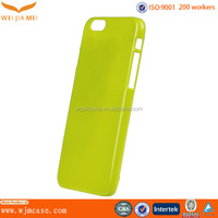 Crystal Protective Hard Plastic Manufacturer For UV Custom IPhone 6 Cover