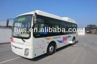 7.6m New design CNG bus model of one step low entrance (CKZ6762HN4)