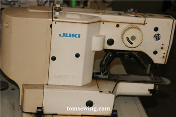used second hand 2nd old juki LK-1900 bartack machine original japan ,reconditioned