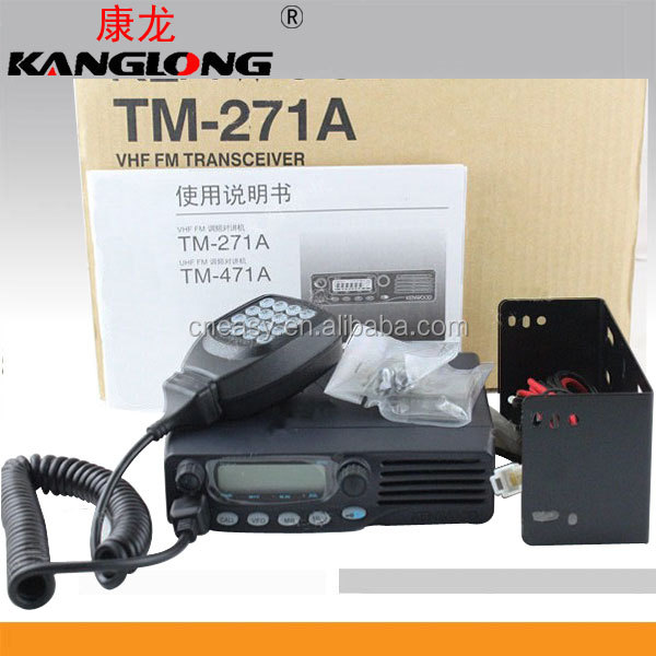 Long Range Amateur Radio RF 60 Watts VHF orUHF FM Transceiver Mobile Radio