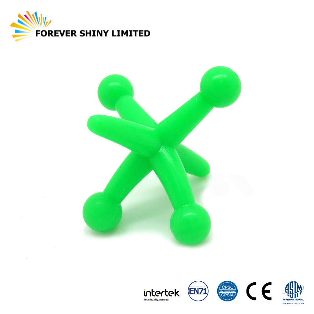 Promotional Gift Small Capsules Toys Spinning Plastic TPR Top for Vending Machines