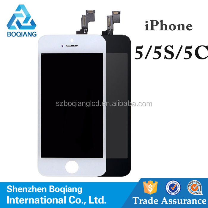 Grade A++ quality Mobile Phone LCD Display For iphone 5G 5S 5C lcd Touch Screen Digitizer Assembly