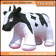 Large waterproof inflatable animals/dairy cattle /milch cow for sale