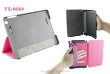 promotional slicon mobile phone leather pu case for ipad