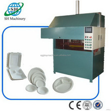 Durable manufacture pap paper lunch box making machine