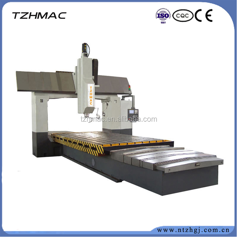 China nantong Low cost high precision CNC gantry type milling machine ZH-DSK2012