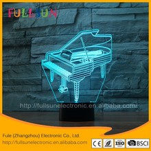 FS - 3625 kids projector home decor 3d illusion table lighting lamp