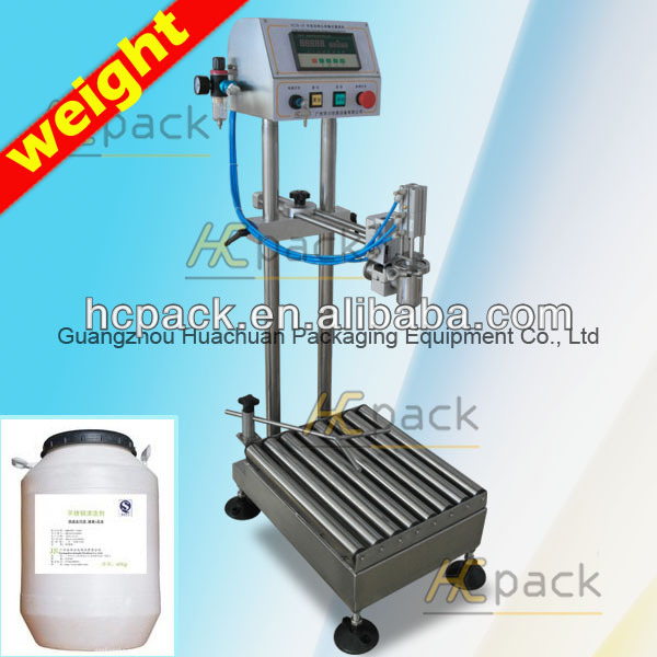 Single-head Semi-automatic Weight Syrup filler