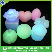 CE/RoHS Multicolor Changing Flashing Led Night Light For Bady