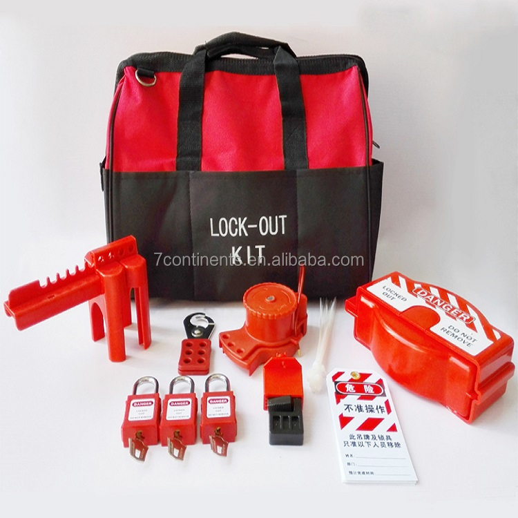 lockout and tagout valve kit