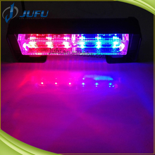12V 6LED amber green white red blue security vehicle LED Emergency Warning light for grille car used flashing strobe light bar
