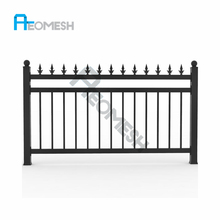 2018 hot sales Welding procedure aluminium fence and gate for garden
