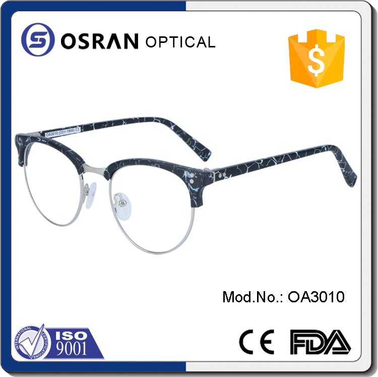 Custom vintage new model eyewear glasses optical frame korea
