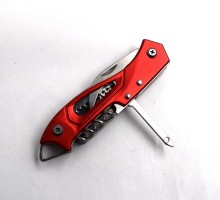 Stainless steel multi function pocket swiss knife utility camping knives