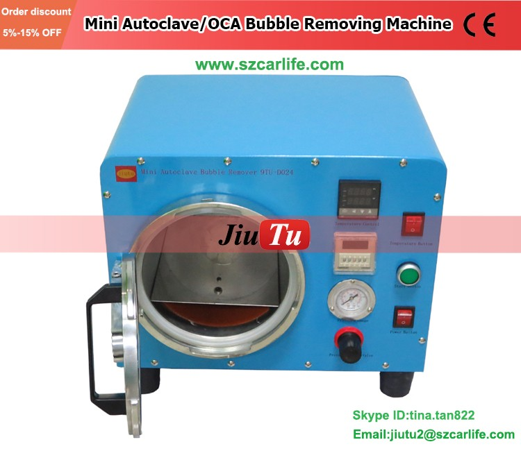 Factory Automatic Bubble Remover Machine Cell Phone Screen Referbishing Lcd Panel Repair Machine