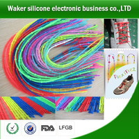 Shoes Accessories Silicone Shoelace Shoes Promotional