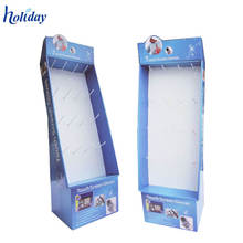 Retail Store Goods Promotional Customized Cardboard Slipper Display Stand