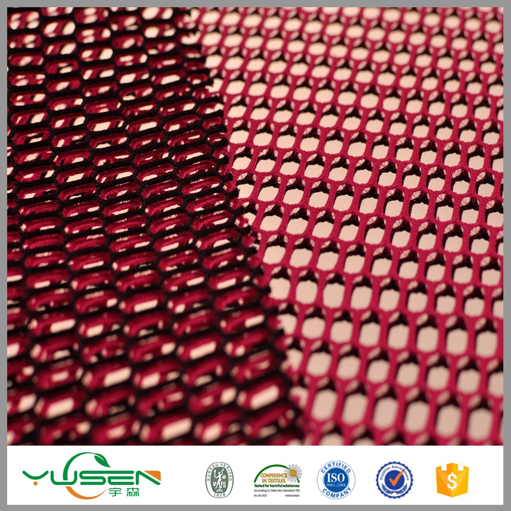 China Manufacturer Cheap Woven 3d Mesh Polyester Fabric