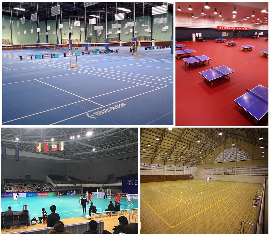 Professional Volleyball court flooring