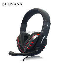 walkie talkie stereo usb connector for ps4 mp3 headphone gaming headset with mic for PS4