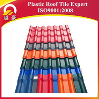 sound insulation pmma coated plastic roof tile