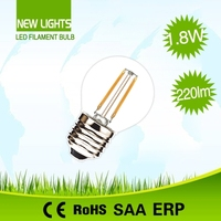 Professional manufacturer housing replace halogen lamp 20w g45 e27 globe led filament bulbs