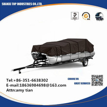 Trailerable Universal polyester Pontoon Boat cover
