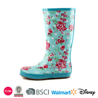 Beautiful women rubber rain boots cheap wellington boots
