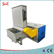 Sail non-woven fabric leftover material opening machine fine opener