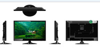 "Promotion led tv, best cheap price small size 15.6"" inch led lcd tv in stock"