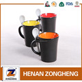 Promotional gift eco friendly melamine drinkware ceramic mug