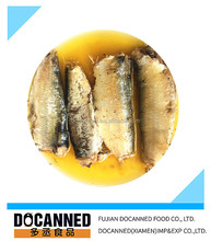 Best canned sardines brands with vegetables oil in club can 125g