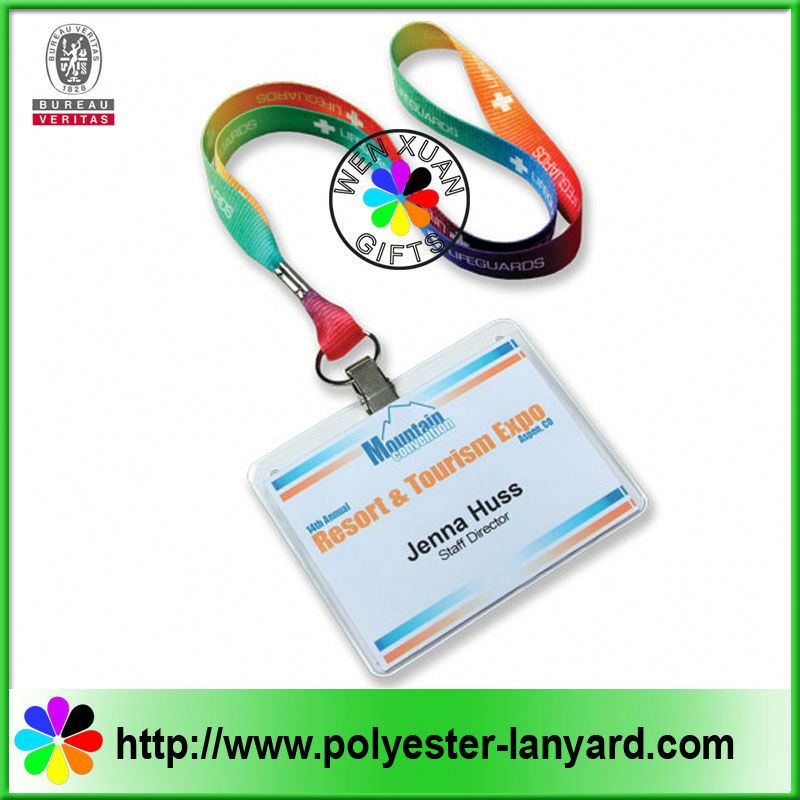 BEST PRICES!! Custom Logo zipper lanyards with soft pvc puller