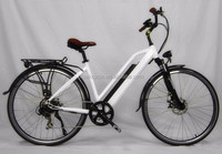 700CC city women electric bike with golden motor
