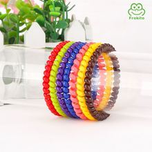 Top fashion collapsible natural citronella mosquito repellent bracelet