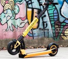 Christams Discount Price 10inch Stand Up Adult 2 Wheel Scooter Adult Electric Motorcycle